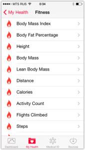 Healthkit в обзор iOS 8