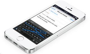 Клавиатура в обзор iOS 8