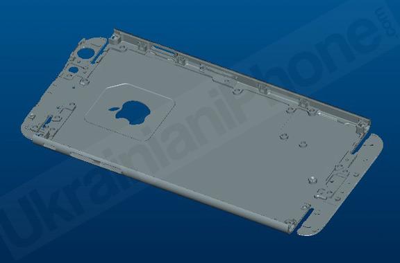 Макет iPhone 6 вид снизу