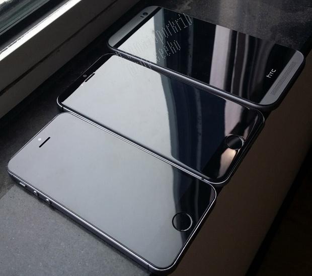 iPhone 6 сзади сверху и справа