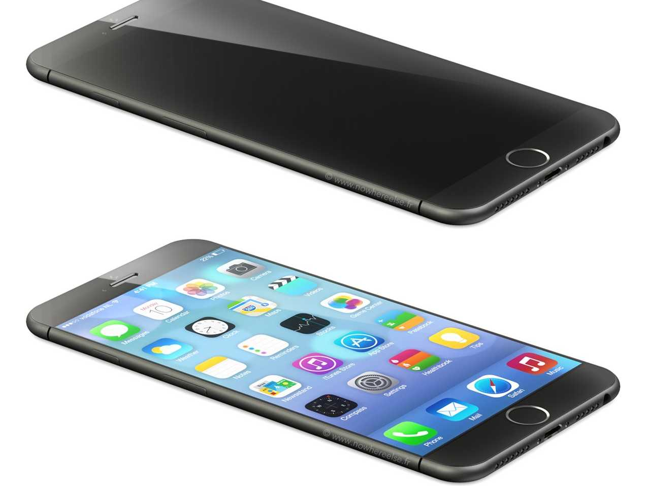Обзор видео iPhone 6
