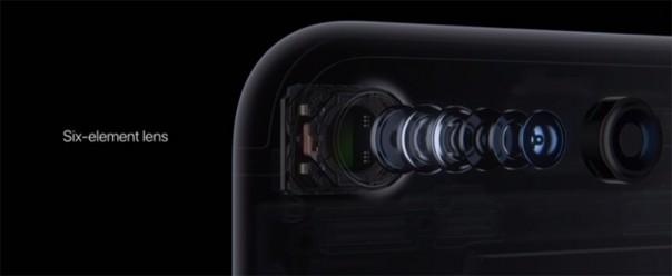 6 линз в камере iPhone 7