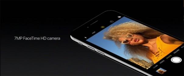 Фронтальная камера iPhone 7