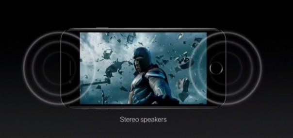 Стерео динамики в iPhone 7