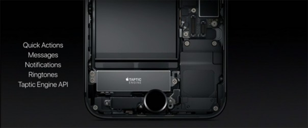 Taptic Engine в iPhone 7