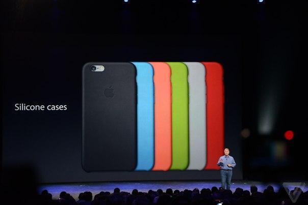 iPhone 6 комплектуется кейсами