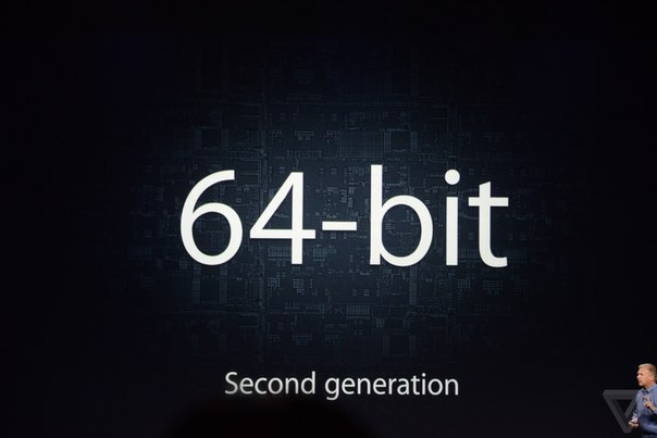 iPhone 6 процессор A8 64 bit