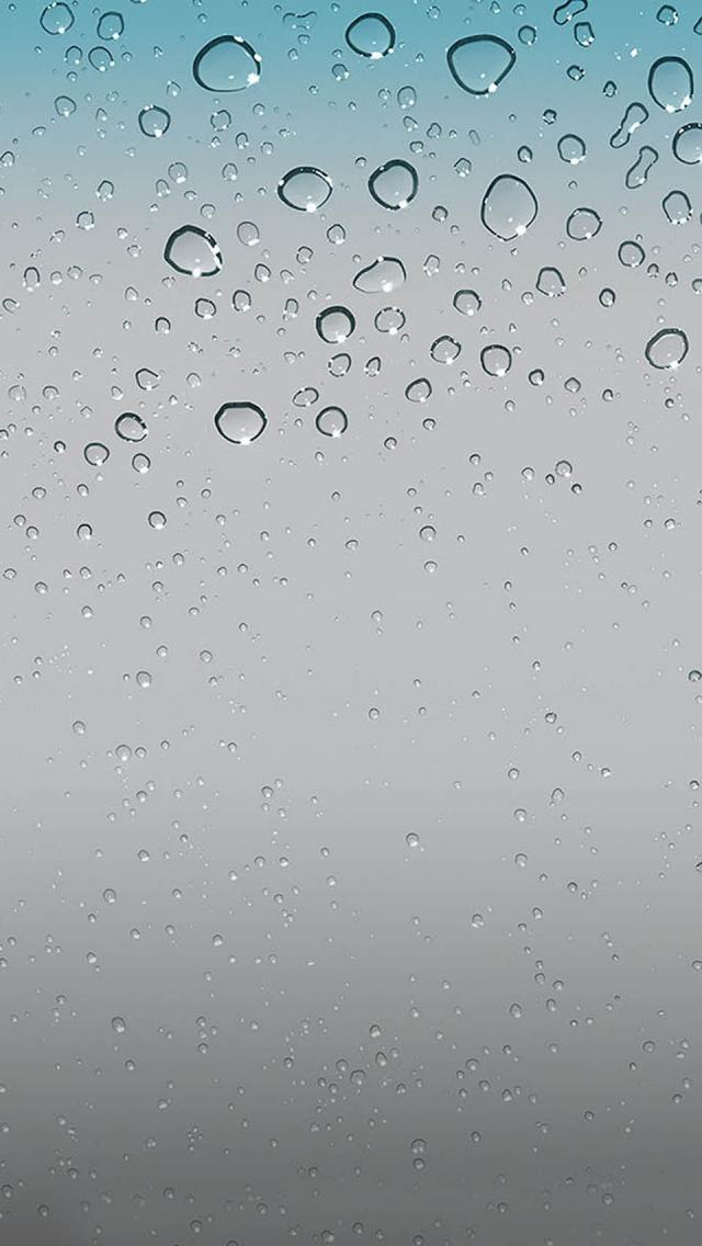 water drops apple wallpaper