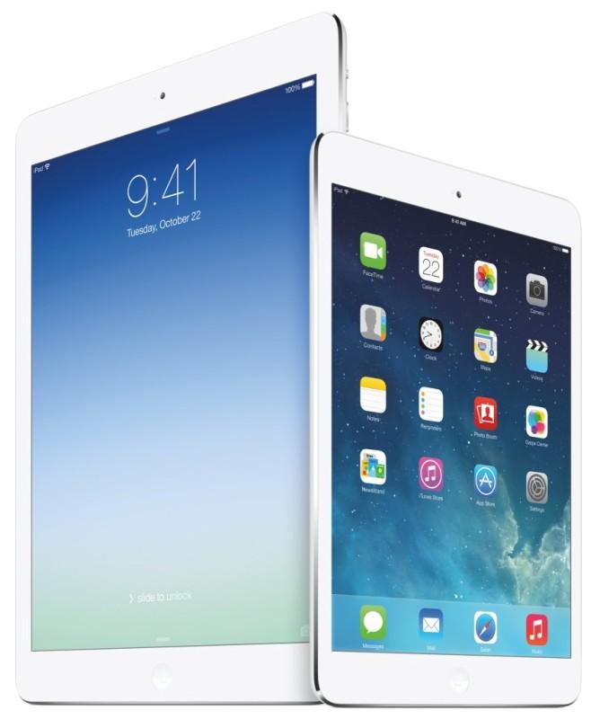iPad Air 2 и iPad mini Retina