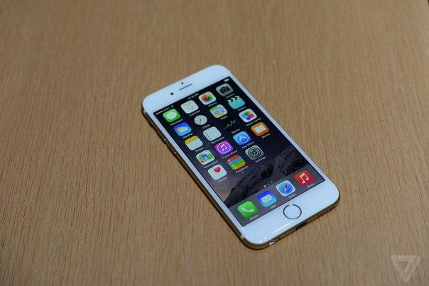 Фото iPhone 6 вид спереди