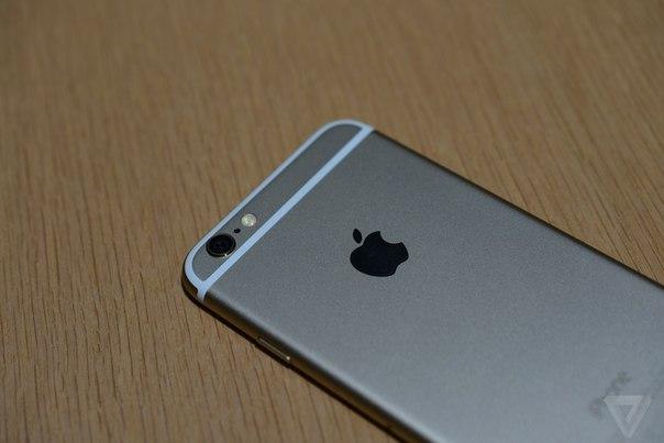 Фото iPhone 6 вид сзади