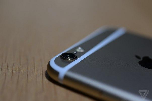 Фото iPhone 6 вид камера