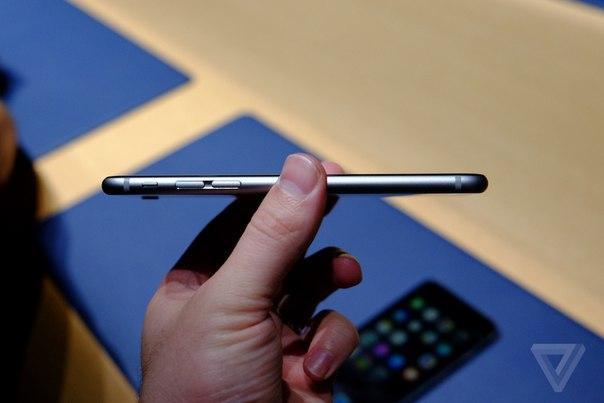 Фото iPhone 6 вид сбоку слева