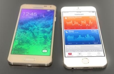 После выхода iPhone 6, Samsung может сильно потерять в весе