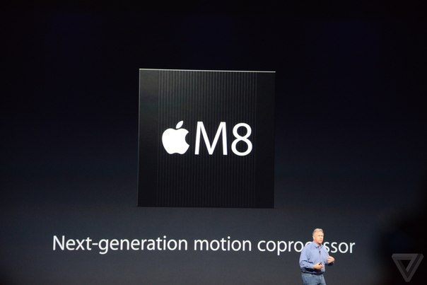 iPhone 6 процессор M8