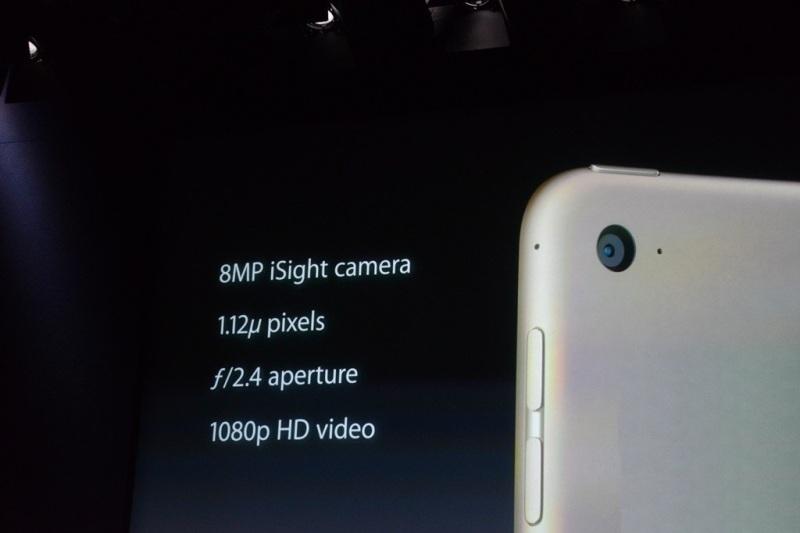 Камера iPad Air 2