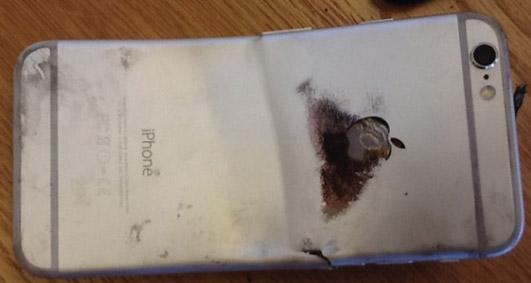 Вот так выглядит iPhone 6, после взрыва батареи
