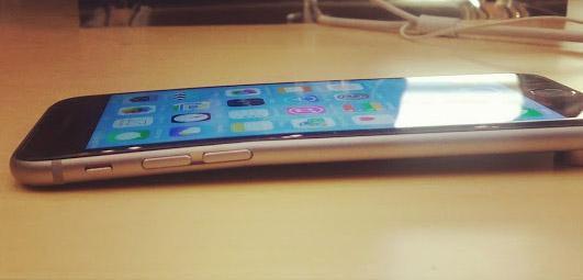 iPhone 6 может погнутся