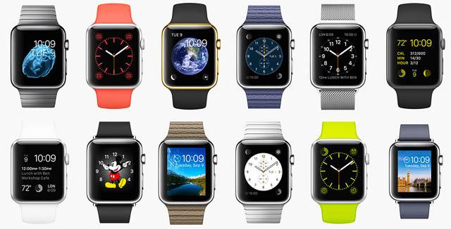 Все модели Apple Watch