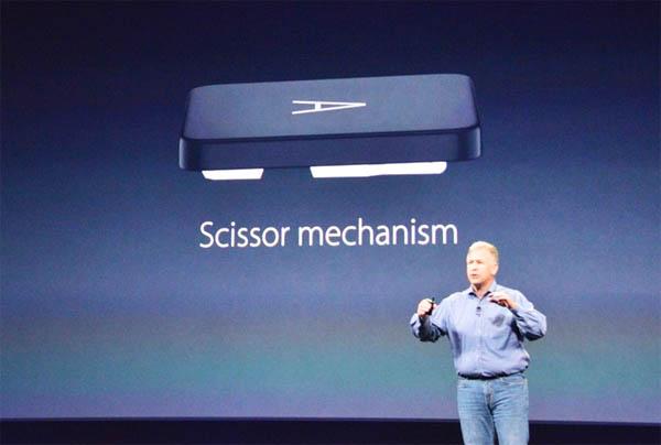 Клавиатура Macbook с системой бабочка
