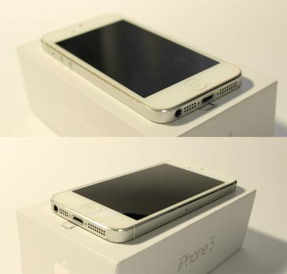 Фото iPhone 5 снизу