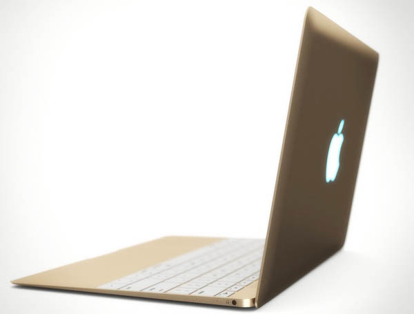 золотой macbook air gold
