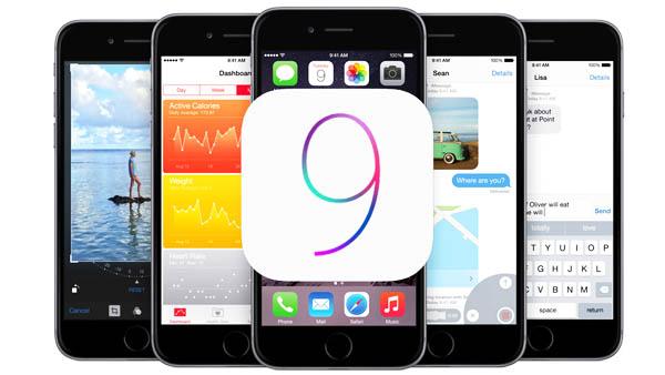 На какие айфоны и айпады пойдет iOS 9