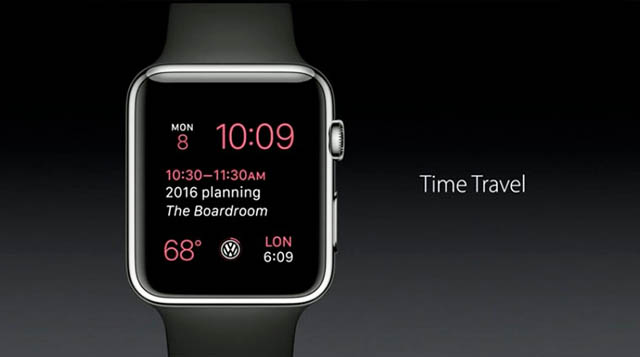 Timetravel watchOS 2