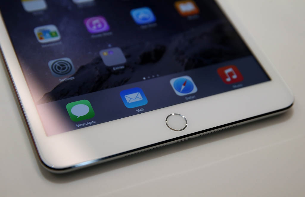 Force Touch в дисплее iPad Air 3