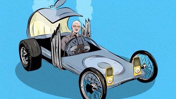 Если бы Apple делала автомобили, то какими они были?