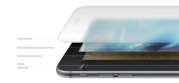 Как устроен дисплей 3D Touch