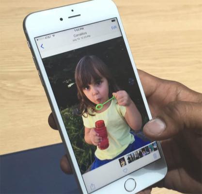 Живые обои в iPhone 6S
