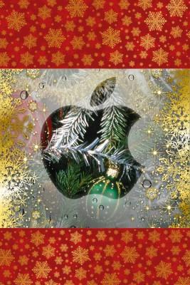 Обои на айфон 4 - Новогодние, Рождественские