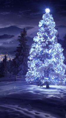 Обои на айфон 5 - Новогодние, Рождественские