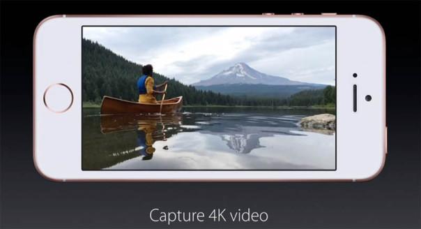 Съемка 4К на iPhone SE