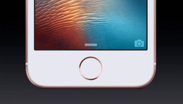Touch ID и 3D Touch в iPhone SE