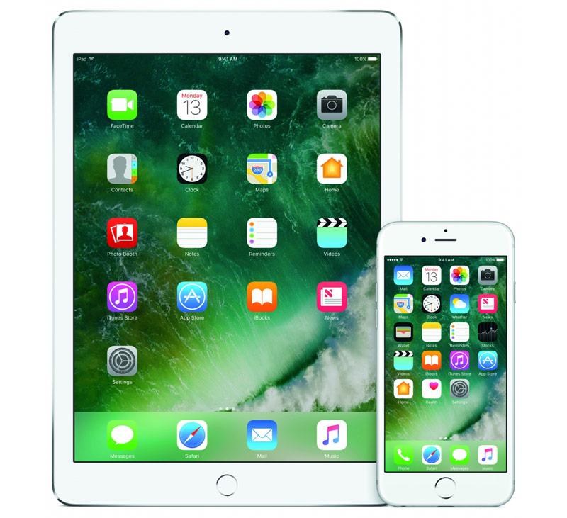 Новый дизайн в iOS 10