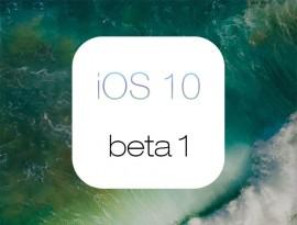Обзор iOS 10 beta 1