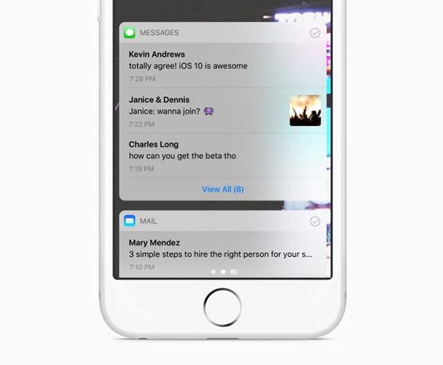 В iOS 11 может измениться дизайн уведомлений