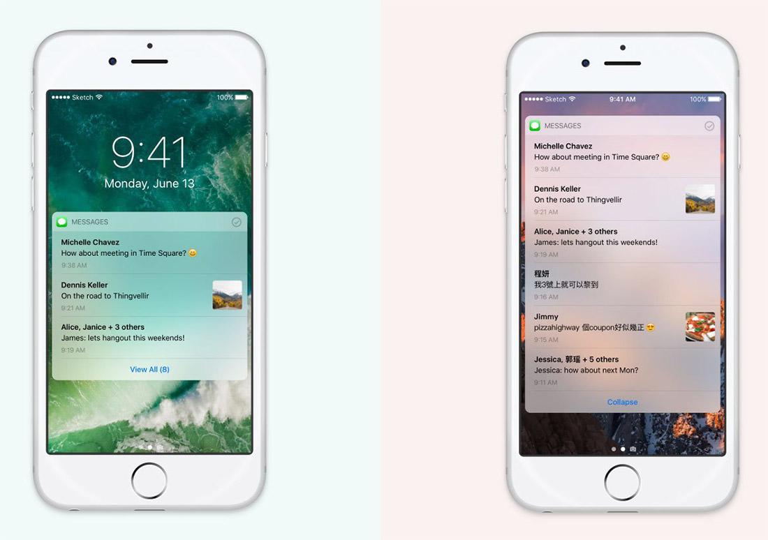 В iOS 11 могут добавиться новые виджеты