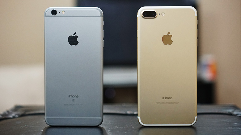 Отличия iPhone 6S от iPhone 7