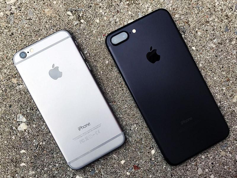 отличие iphone 6 от iphone 7