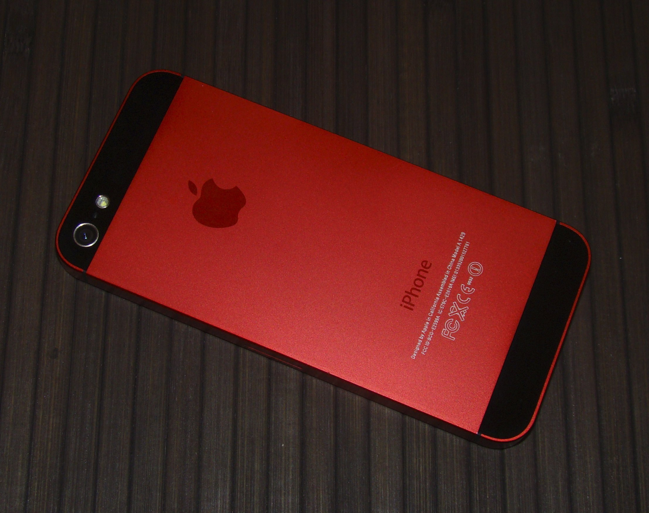 iPhone 5S Red