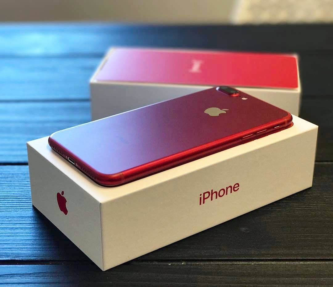 Обзор iPhone 7 Red