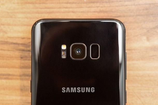 Samsung Galaxy S8 камера