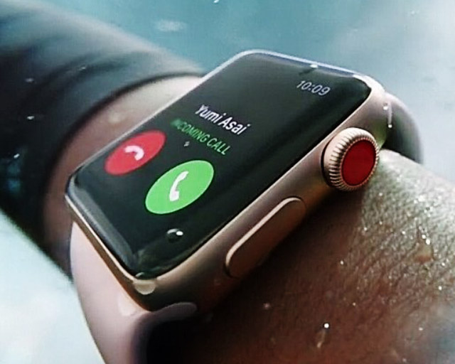 Apple Watch Series 3 LTE модуль